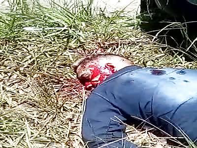 MAN KILLED TO SHOTS