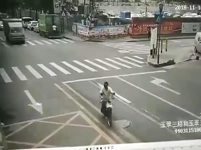 Bye Baby... Truck Ran Over His Head