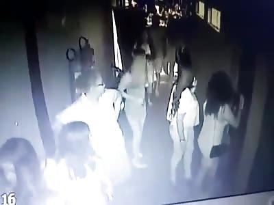MAN HITS THE WOMAN