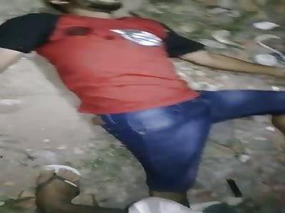 MAN KILLED TO SHOT