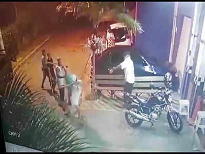 CCTV Murder: Brutal Hockey Stick Attack