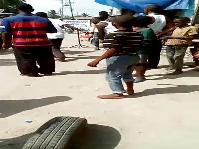 NIGGAS FIGHTING