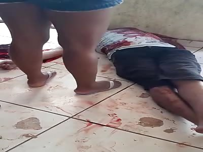 WOMAN CRIES HER DEAD HUSBAND