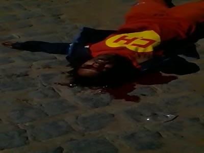 Brazilian Superhero Murdered in the Favelas of Rio