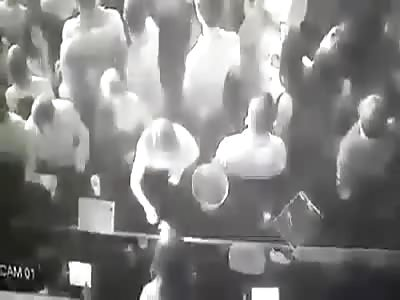 CAMP BATTLE IN THE BAR