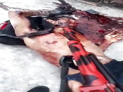 MAN BRUTALLY KILLED