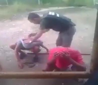 Venezuelan National Police Torture Protesters ANTI-MADURO