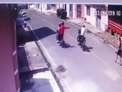 Drive by Execution [CCTV -BRAZIL]