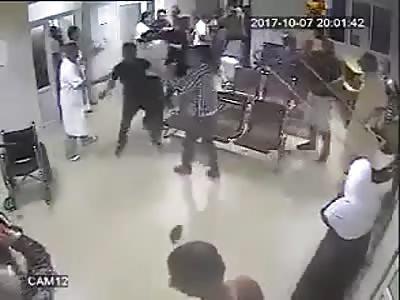 fight in algerian hospital