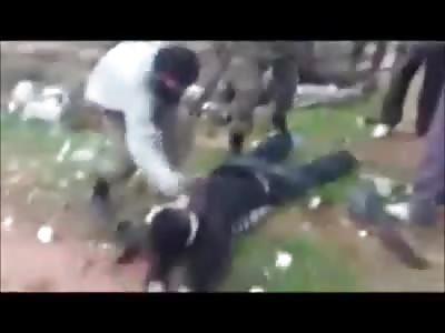 (Repost) chechen/mujahideens executing other muslims
