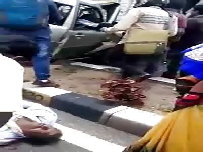 Bangalore airport  accident