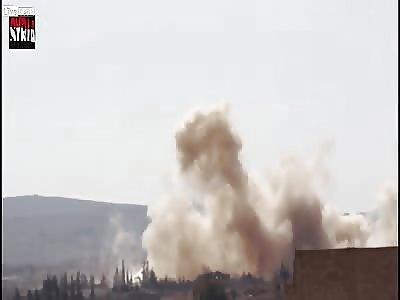 Syria - Airstrikes To Homs