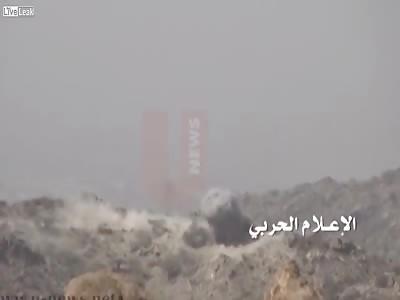 Houthis detonating saudi mechanisms