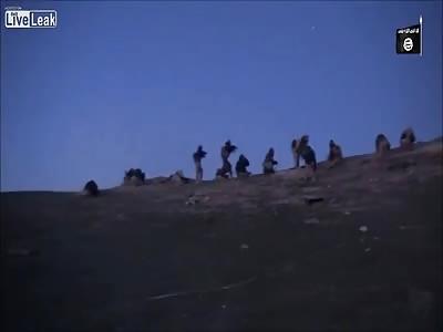IS-Jihadist Gets Shot on Camera