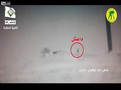 Iraqi Sniper Kills 2 ISIS Rats West of Samarra