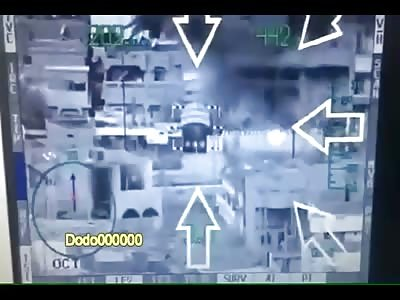 Iraqi army aviation Mi28 Havoc engages IS militants