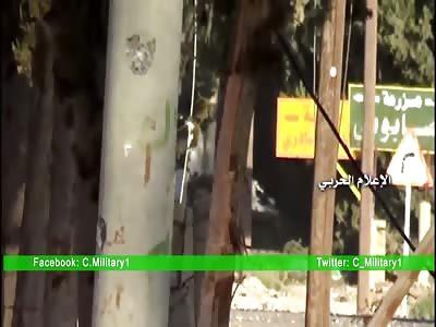 Syria: SAA/NDF Operations in Deir Khabeyah, Western Ghouta