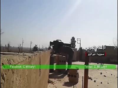 Syrian War:SAA target isis positions Deir Ez-Zor/Guerra Siriana:Scontri contro isis Deir ez-Zor