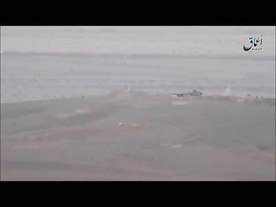 Homs destruction of a tank