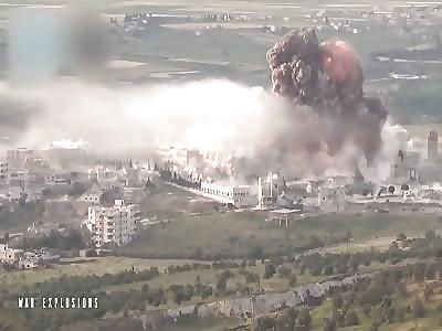 Massive al Nusra truck bomb against Hospital
