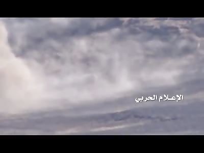 Saudi Arabia targeting mechanism carrying ammunition west Rgela Heights in Najran
