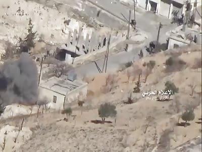 Syrian army captures Afra town in Wadi Barada region - west Damascus