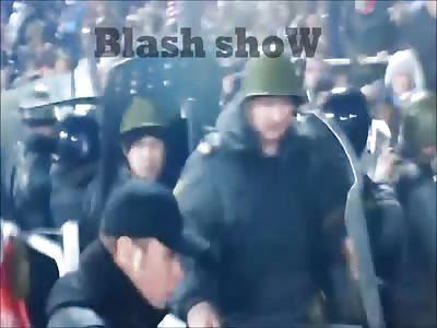 FIGHT HOOLIGANS VS POLICE (A.C.A.B.)