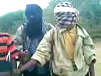 (Repost) ISIS Al Shabab behead Mansuur Mohammed