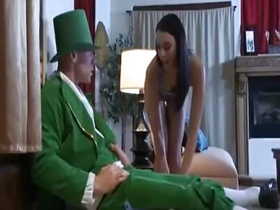 This Slut Has A Strange St. Pat's Day Nightmare…