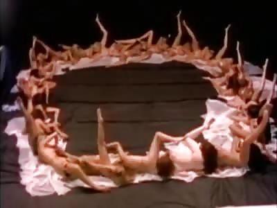 Lezbo Human Centipede…  A WTF Initiation Ceremony…