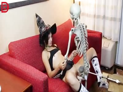Happy Freaking Halloween… Skeleton Is Bad To The Bone...