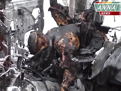GRAPHICWar Escalates in Eastern Ukraine as Militia Leader Died Car Bomb