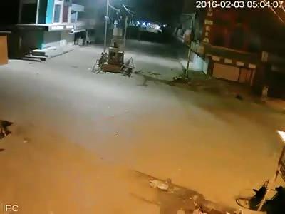 Building Collapse (CCTV)
