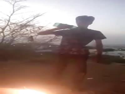 Boy Dies after Imitating Reality TV Fire Stunts