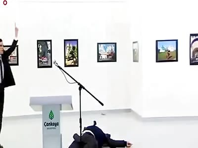 (Repost) Russian Ambassador Shot Dead in Turkey