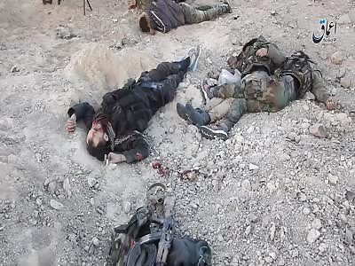 Shooting at Dead Terrorists
