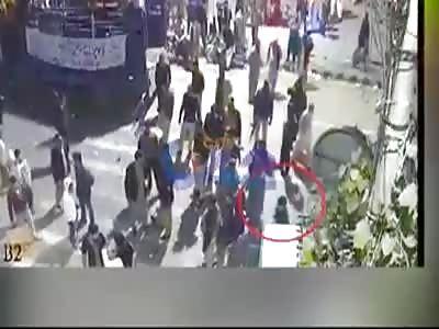 Lahore Bomb Blast CCTV Footage