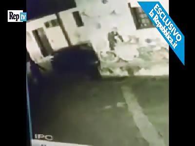 Man Sets Homeless Man on Fire