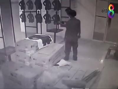 Korean Businessman Commits Suicide Inside Shooting Range