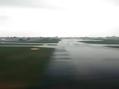 BAY4406 flight crash landing at at Zhuliyani from inside the Flight
