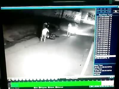 Biker Shot Dead