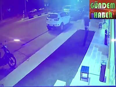 Man Shot dead Inside Restaurant