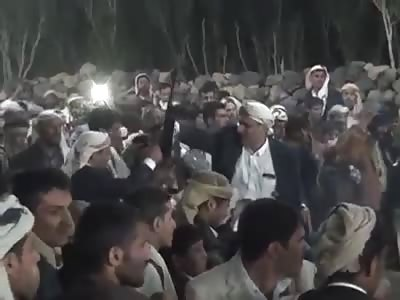 Celebratory Gunfire Fatal Accident During Wedding