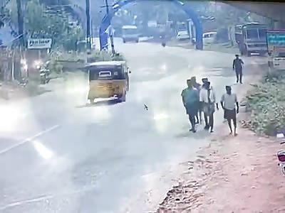 Two People Killed in Autorikshaw vs Van Accident