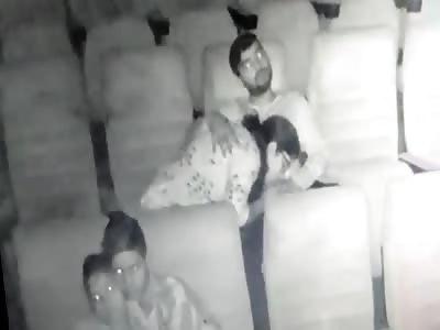 Fun Inside the Movie Theater