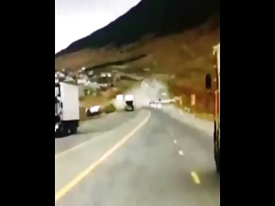 Lorry Ploughs Into Wedding Convoy In Fatal Crash