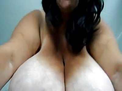 Huge boobs on mature women