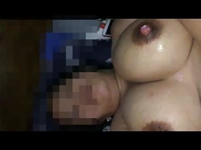 Malayan wife huge tits and nips