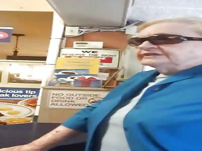 Racist Lady Orders Hispanic Woman to Speak English