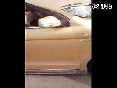 Cement truck killed all car occupants
